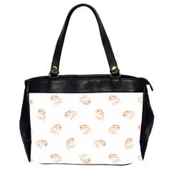 Birds Sketch Pattern Office Handbags (2 Sides)  by dflcprints