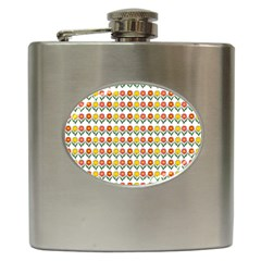 Flowers Hip Flask (6 Oz) by Valentinaart