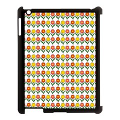 Flowers Apple Ipad 3/4 Case (black) by Valentinaart