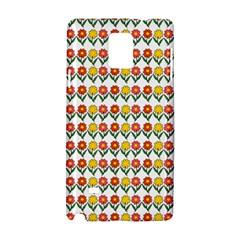 Flowers Samsung Galaxy Note 4 Hardshell Case by Valentinaart