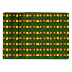 Flowers Samsung Galaxy Tab 10 1  P7500 Flip Case by Valentinaart
