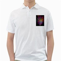 Fractal In Many Different Colours Golf Shirts by Simbadda