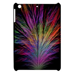 Fractal In Many Different Colours Apple Ipad Mini Hardshell Case by Simbadda