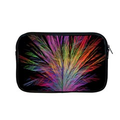 Fractal In Many Different Colours Apple Macbook Pro 13  Zipper Case by Simbadda