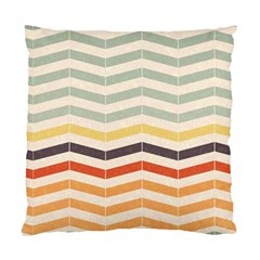 Abstract Vintage Lines Standard Cushion Case (two Sides) by Simbadda