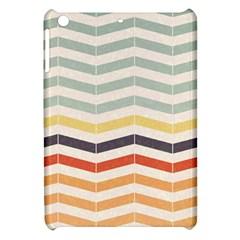 Abstract Vintage Lines Apple Ipad Mini Hardshell Case by Simbadda