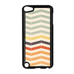 Abstract Vintage Lines Apple Ipod Touch 5 Case (black) by Simbadda
