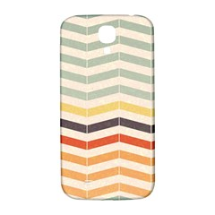 Abstract Vintage Lines Samsung Galaxy S4 I9500/i9505  Hardshell Back Case by Simbadda