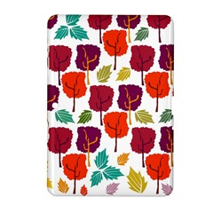 Colorful Trees Background Pattern Samsung Galaxy Tab 2 (10 1 ) P5100 Hardshell Case  by Simbadda