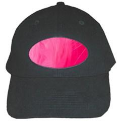 Very Pink Feather Black Cap by Simbadda