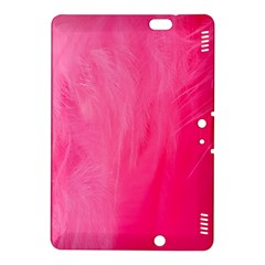 Very Pink Feather Kindle Fire Hdx 8 9  Hardshell Case by Simbadda
