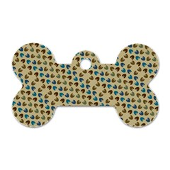 Abstract Seamless Pattern Dog Tag Bone (two Sides) by Simbadda