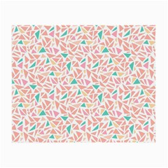 Geometric Abstract Triangles Background Small Glasses Cloth by Simbadda