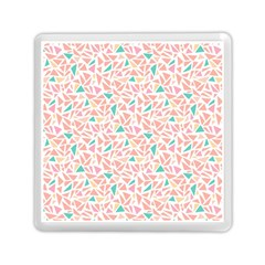 Geometric Abstract Triangles Background Memory Card Reader (square)  by Simbadda