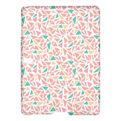 Geometric Abstract Triangles Background Samsung Galaxy Tab S (10 5 ) Hardshell Case  by Simbadda