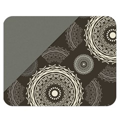 Abstract Mandala Background Pattern Double Sided Flano Blanket (medium)  by Simbadda