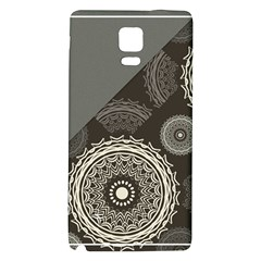 Abstract Mandala Background Pattern Galaxy Note 4 Back Case