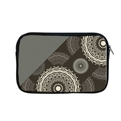 Abstract Mandala Background Pattern Apple Macbook Pro 13  Zipper Case by Simbadda