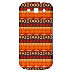 Abstract Lines Seamless Pattern Samsung Galaxy S3 S Iii Classic Hardshell Back Case by Simbadda