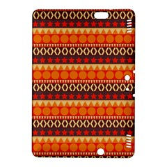 Abstract Lines Seamless Pattern Kindle Fire Hdx 8 9  Hardshell Case by Simbadda