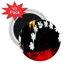 Grunge Abstract In Dark 2 25  Magnets (10 Pack)  by Simbadda