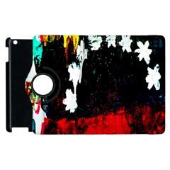 Grunge Abstract In Dark Apple Ipad 2 Flip 360 Case by Simbadda