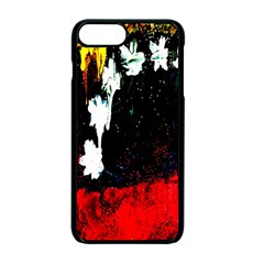 Grunge Abstract In Dark Apple Iphone 7 Plus Seamless Case (black) by Simbadda