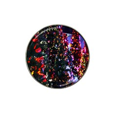 Lit Christmas Trees Prelit Creating A Colorful Pattern Hat Clip Ball Marker (4 Pack) by Simbadda