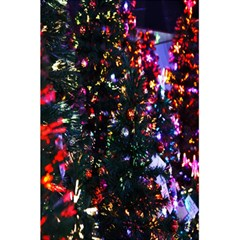 Lit Christmas Trees Prelit Creating A Colorful Pattern 5 5  X 8 5  Notebooks by Simbadda