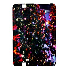 Lit Christmas Trees Prelit Creating A Colorful Pattern Kindle Fire Hd 8 9  by Simbadda