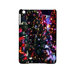 Lit Christmas Trees Prelit Creating A Colorful Pattern Ipad Mini 2 Hardshell Cases by Simbadda