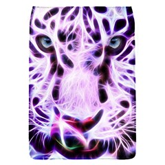 Fractal Wire White Tiger Flap Covers (s)  by Simbadda