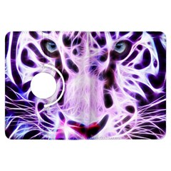 Fractal Wire White Tiger Kindle Fire Hdx Flip 360 Case by Simbadda