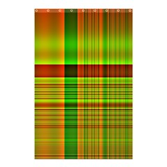 Multicoloured Background Pattern Shower Curtain 48  X 72  (small)  by Simbadda