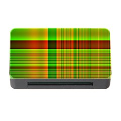 Multicoloured Background Pattern Memory Card Reader With Cf by Simbadda