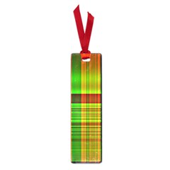 Multicoloured Background Pattern Small Book Marks by Simbadda