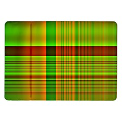 Multicoloured Background Pattern Samsung Galaxy Tab 10 1  P7500 Flip Case by Simbadda