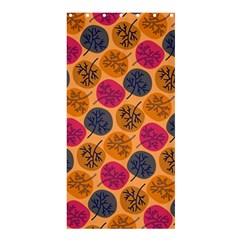 Colorful Trees Background Pattern Shower Curtain 36  X 72  (stall)  by Simbadda