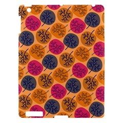 Colorful Trees Background Pattern Apple Ipad 3/4 Hardshell Case by Simbadda
