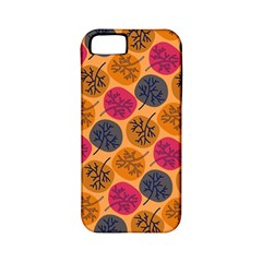 Colorful Trees Background Pattern Apple Iphone 5 Classic Hardshell Case (pc+silicone) by Simbadda