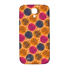 Colorful Trees Background Pattern Samsung Galaxy S4 I9500/i9505  Hardshell Back Case by Simbadda
