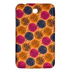 Colorful Trees Background Pattern Samsung Galaxy Tab 3 (7 ) P3200 Hardshell Case  by Simbadda