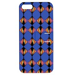 Abstract Lines Seamless Pattern Apple Iphone 5 Hardshell Case With Stand by Simbadda