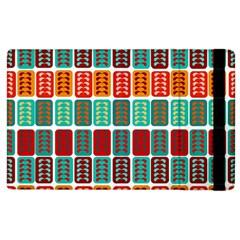 Bricks Abstract Seamless Pattern Apple Ipad 3/4 Flip Case by Simbadda