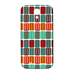 Bricks Abstract Seamless Pattern Samsung Galaxy S4 I9500/i9505  Hardshell Back Case by Simbadda