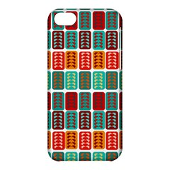 Bricks Abstract Seamless Pattern Apple Iphone 5c Hardshell Case by Simbadda