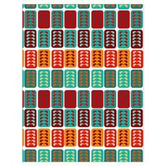 Bricks Abstract Seamless Pattern Drawstring Bag (large) by Simbadda