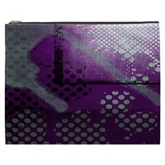Evil Moon Dark Background With An Abstract Moonlit Landscape Cosmetic Bag (XXXL)