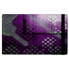 Evil Moon Dark Background With An Abstract Moonlit Landscape Apple Ipad 2 Flip Case by Simbadda
