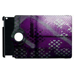 Evil Moon Dark Background With An Abstract Moonlit Landscape Apple Ipad 3/4 Flip 360 Case by Simbadda
